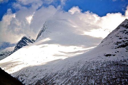 Mountain in Loen, Norway Stock Photo - 7669634