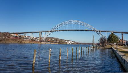 Bridge in Fredrikstad, Norway
