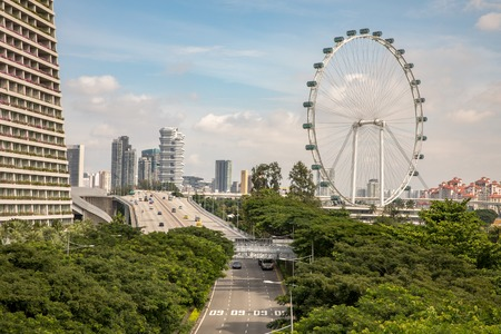 Singapore Flyer is the Largest Ferris Wheel in the World. Editöryel