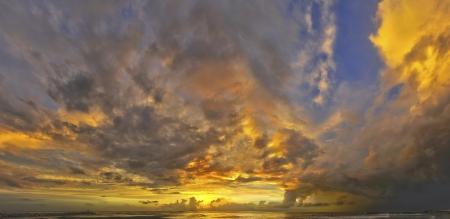 Beach sunset Stock Photo - 15483039