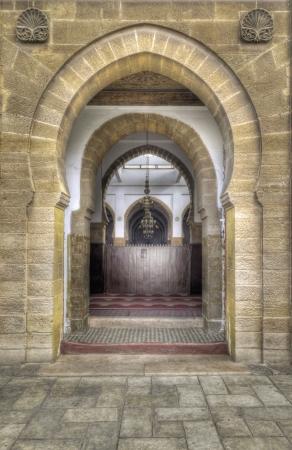 Ancient Arabic portal in Casablanca Stock Photo - 17069556