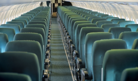 Overview of an aircraft economy class