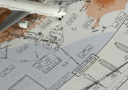 Aeronautical terminal aerea chart