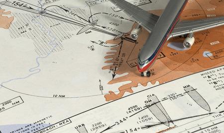aerea: Aeronautical terminal aerea chart
