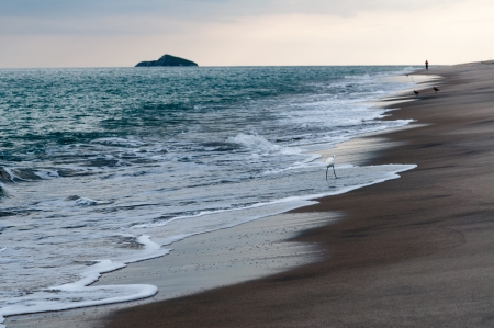 beatitude: Pacific coast of Panama with beautiful beach Stock Photo