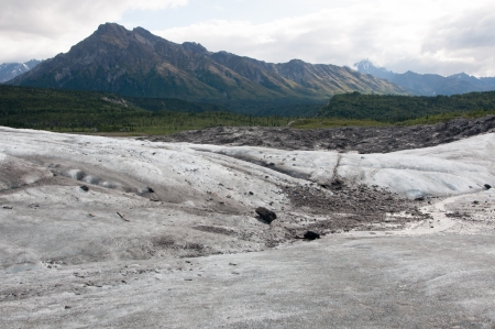 Matanuska Glacier, Glenn Highway, Alaska photo