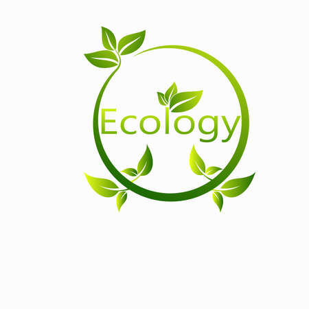 Energy development, Environmental and Ecology concept, Vector illustration
