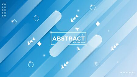 Illustration vector graphic of modern abstract geometric background. Very useable for landing page, website, banner, poster, event, etc.