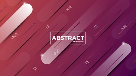 Illustration vector graphic of modern abstract geometric background. Very useable for landing page, website, banner, poster, event, etc. Çizim