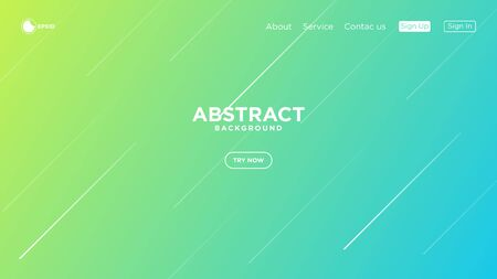 Illustration vector graphic of modern abstract minimalist geometric background. Very useable for landing page, website, banner, poster, event, etc. Çizim