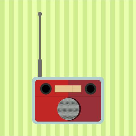 portable radio: Radio Retro