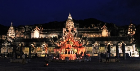 Theatre in part Phuket Fantasea