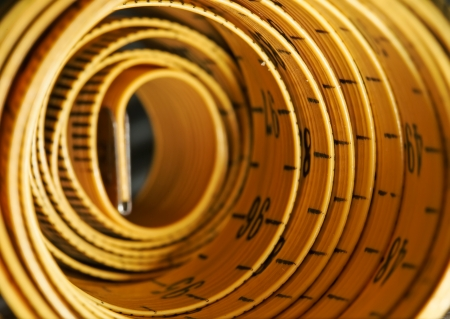 rolled tape line close up picture photo