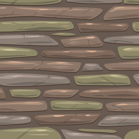 stone background: Seamless gray stone texture, vector tileable square background