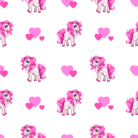 cartoon zoo: Cute seamless pattern.