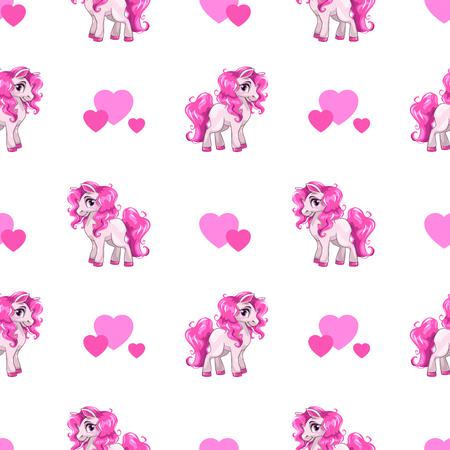 cartoon person: Cute seamless pattern.