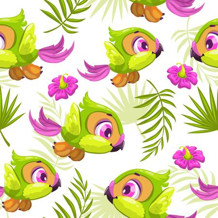 tropicana: Seamless tropical pattern