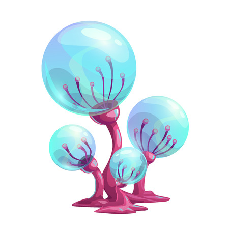 Fantasy cartoon mushroom.