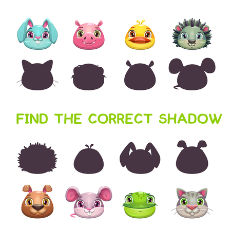conformity: Find the correct shadow