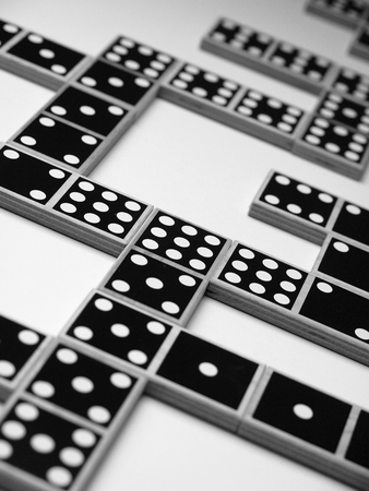 dominoes Banque d'images