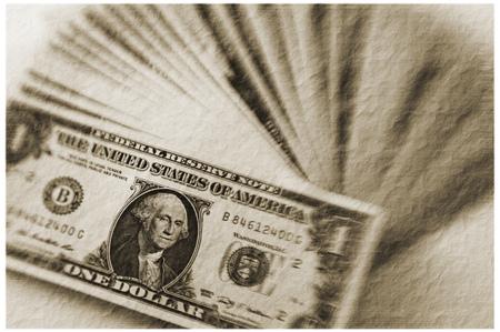 Dollar Bills - vintage