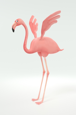 Flamant rose Banque d'images - 84614104