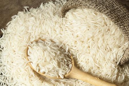 sack cloth: Basmati rice varieties