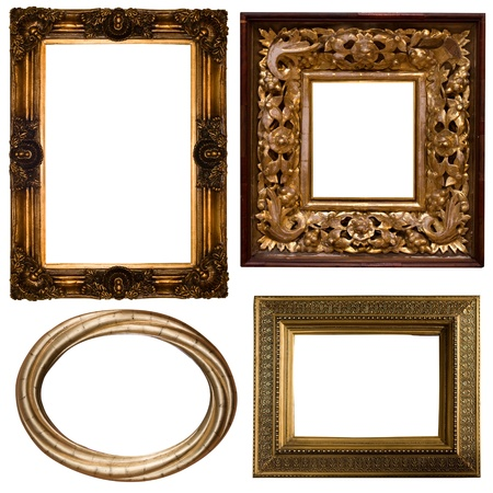 Collection Picture gold frame  photo
