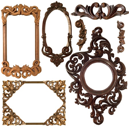 mirror frame: Collection Picture gold frame