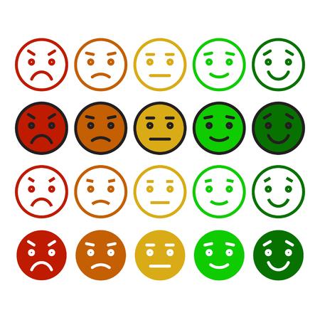 lachendes gesicht: Feedback in Form von Emotionen, smileys, Emoji