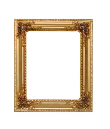Frame isoliert Standard-Bild - 3212777