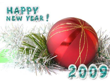 congratulation card: happy new year congratulation card Stock Photo