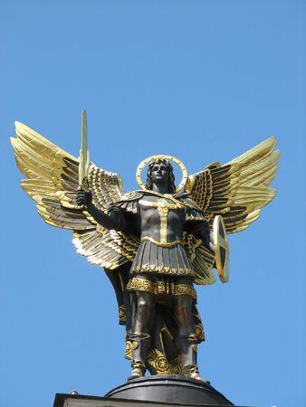 michael the archangel: Archangel michael statue