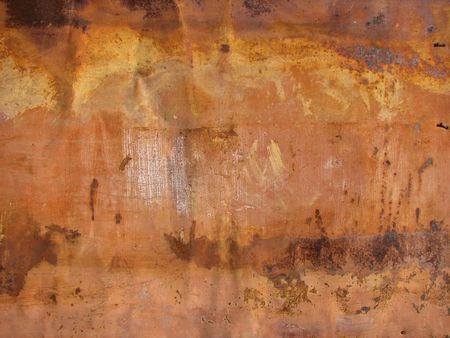 oxidate: old rusty grunge metal background, dirty and stained Stock Photo