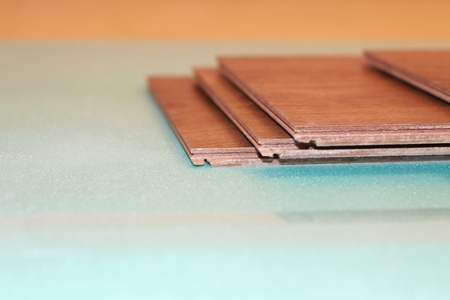 substrate: laminate on substrate