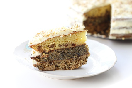 Hausgemachter Kuchen Standard-Bild - 10443077