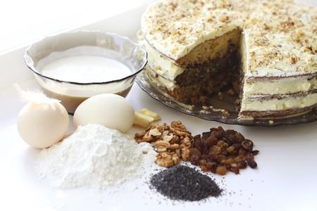 Hausgemachten Kuchen Standard-Bild - 10443079