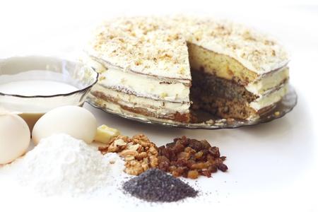 Hausgemachten Kuchen Standard-Bild - 10443075