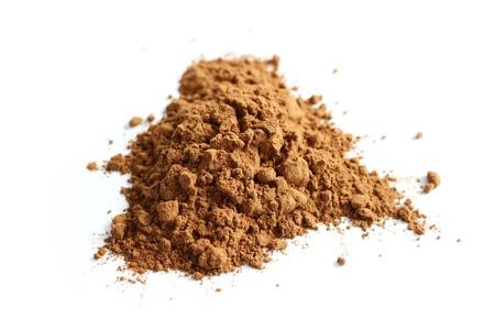 Kakaopulver isoliert Standard-Bild - 10551859