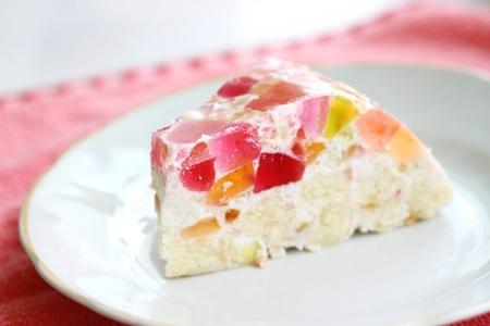 homemade jelly cake Stock Photo - 12817525