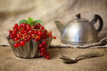 Berries in sackcloth