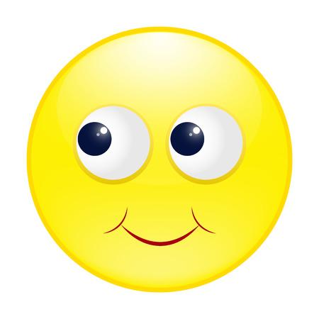 smiley: yellow round smiley