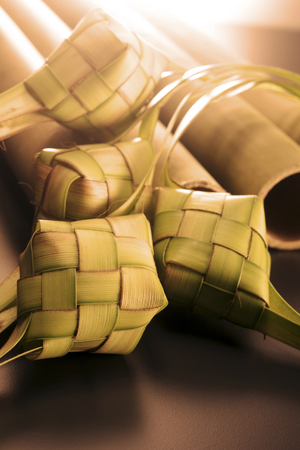 ketupat icon of the hari raya Stock Photo