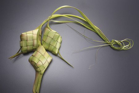 ketupat icon of the hari raya Reklamní fotografie