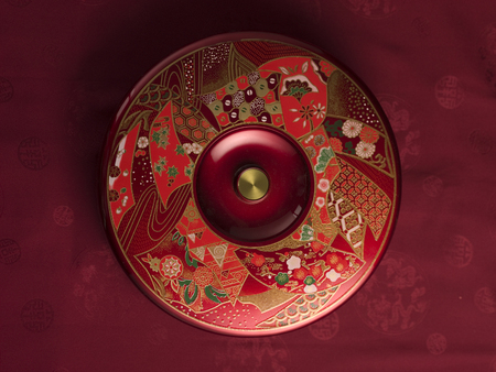 Top view of candy tray 版權商用圖片
