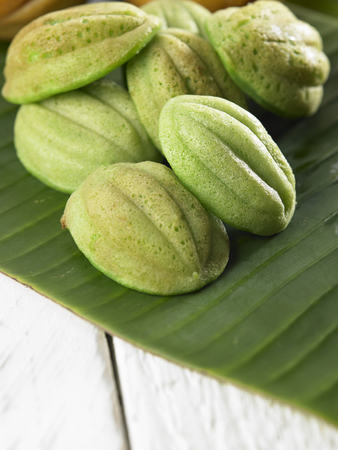 malaysia traditional food kueh cara manis Stock Photo