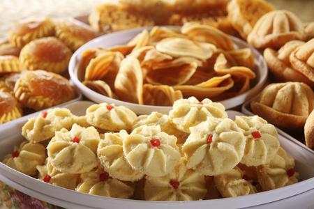 malay cookies Standard-Bild