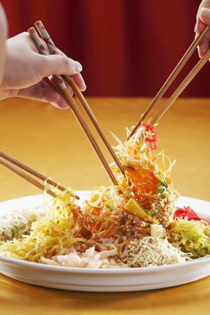yusheng  ready to eat