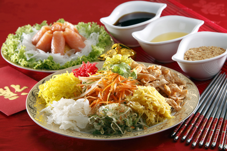 yusheng para el año nuevo chino