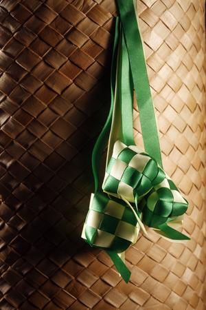 mood shot of decoration ketupat